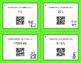 Christmas Math: Metric Capacity Conversions QR Code Task Cards