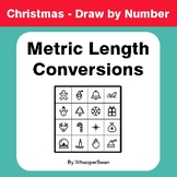 Christmas Math: Metric Length Conversions - Math & Art - Draw by Number