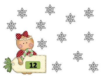 Christmas Math Mountain/Number Bond Games