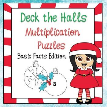 Christmas Math - Multiplication
