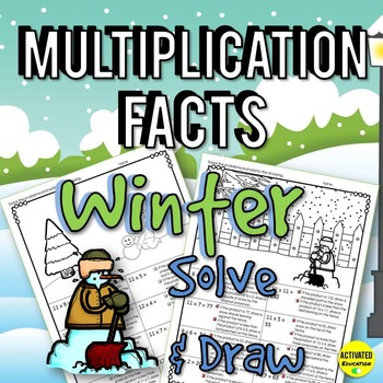 Winter Math: Multiplication Facts