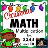 Christmas Math - Multiplication Print and Go {Sweet Line Design}