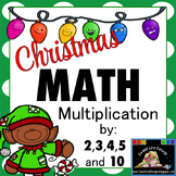 Christmas Math - Multiplication Print and Go {Sweet Line Design}