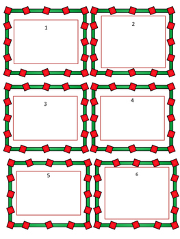 Christmas Math: Multiplication Story Problems