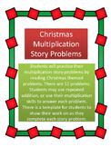 Christmas Math: Multiplication Story Problems