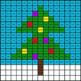 Christmas Math: Multiplication by 10, 100, 1000 - Mystery Picture - Google Forms