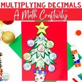 Christmas Math - Multiplying Decimals Craftivity