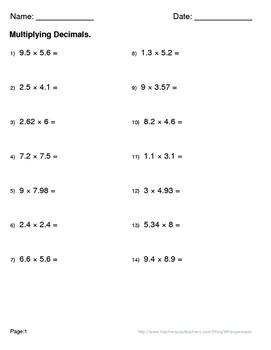 Christmas Math: Multiplying Decimals Maze