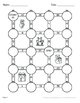 Christmas Math: Multiplying Integers Maze