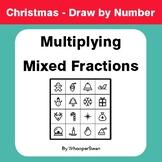 Christmas Math: Multiplying Mixed Fractions - Math & Art -