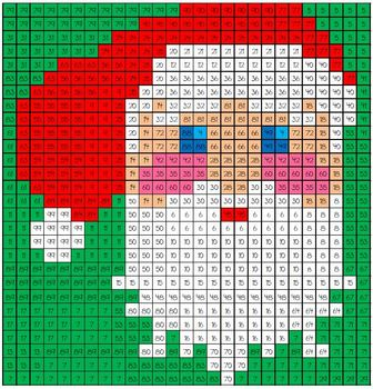 Christmas Math Mystery Picture #18  ~ Addition and Subtraction