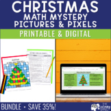 Christmas Math Mystery Pictures   Word Problems   Distance