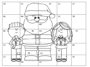 Christmas Math Number Puzzles