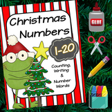 Number and Number Words to 20 | Christmas Themed Math