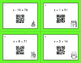 Christmas Math: One Step Equations (Addition & Subtraction) QR Code Task Cards