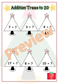 Christmas Math Pack (Patterns, addition, subtraction, co-ordinates and graphs)