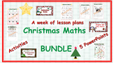 Christmas Math Pack (Patterns, addition, subtraction, co-o