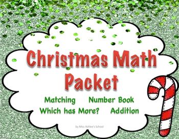 Christmas Math Packet