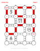 Christmas Math: Percents to Fractions Maze