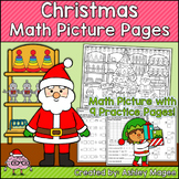 Christmas Math Picture Pages