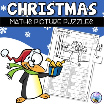 Christmas Math Picture Puzzles
