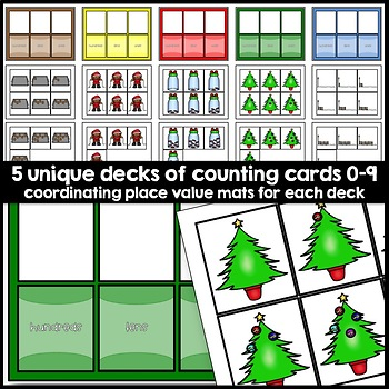 Christmas Math: Place Value and Number Sense Task Book