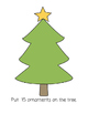 Christmas Math Playdough Mats 11-20