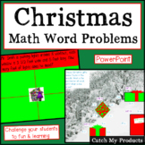 Christmas Math Word Problems Powerpoint