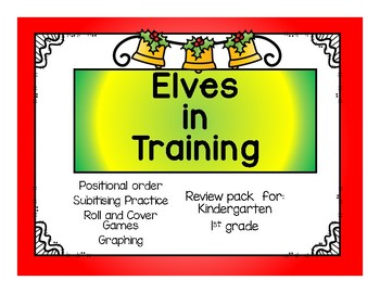 Christmas Math Practice: Elves in Training: Number Concepts Review