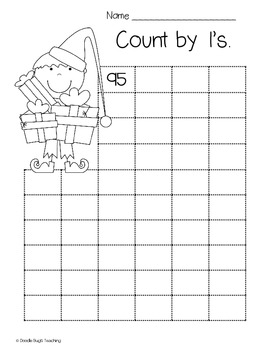Christmas Math Practice Review Sheets
