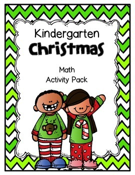 Christmas Math Practice for Kindergartners!