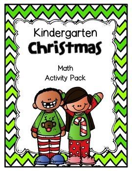 Christmas Math Practice for Kindergartners!