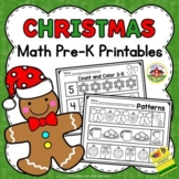 Christmas Math Preschool Printables