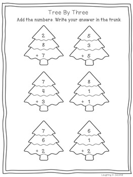 Christmas Math - Print & Go