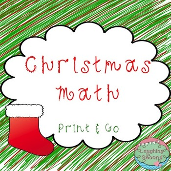 Christmas Math - Print & Go