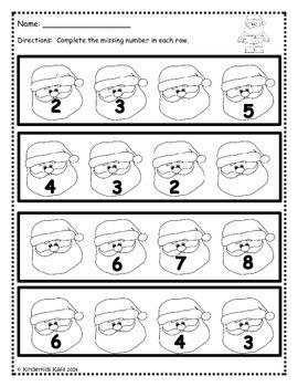 Christmas Math Printable Pack