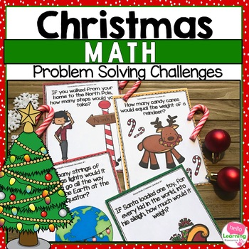 Christmas Math Problem Solving Challenges
