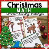 Open Ended Math Tasks- Christmas Theme