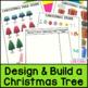 Christmas Math - Build a Christmas Tree: Adding Whole Numbers