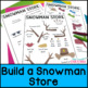 Christmas Math Project: Build a Snowman Problem Based Learning, Adding Decimals