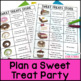 Christmas Math Project: Holiday Party with Sweets, Adding