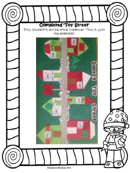 Christmas Math Project (Measurement, Place Value, Even and Odd, and More)