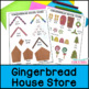 Christmas Math Project BUNDLE: Gingerbread House, Christmas Tree, Snowman, Party