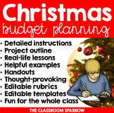 Christmas Math Project: Personal Finance, Budgeting, and H