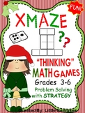 Christmas Math Puzzles For Upper Elementary Grades
