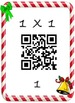 Christmas Math Multiplication QR Fact 1's