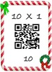Christmas Math Multiplication QR Fact 10's