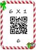 Christmas Math Multiplication QR Fact 6's