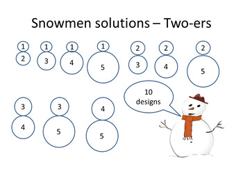 Christmas Math Quiz : Snowman
