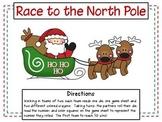Christmas Math - Race to the North Pole